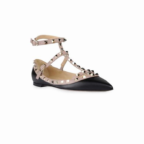 Valentino Rockstud Double Ankle Strap